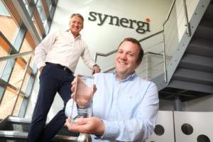 0P9A0121-Synergi win Nintex Partner Award for 5th year running