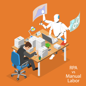 AdobeStock_257460136 psd-What does Robotic Process Automation (RPA) bring to the process party and why should I care?