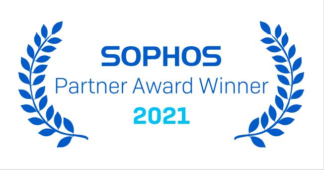 Sophos partner award 2021-Synergi Awarded Sophos 2021 New Partner of the Year in UKI